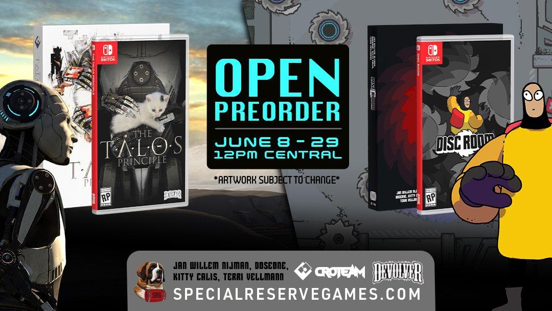 The Talos Principle Disc Room Special Reserve Games