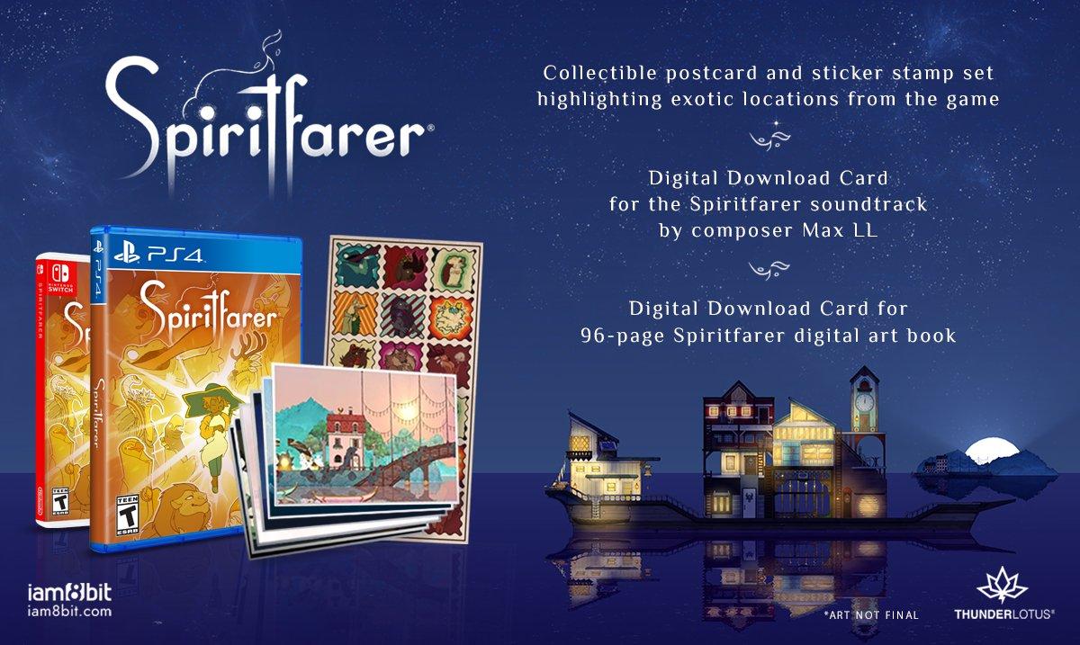 Spiritfarer Physical Release Iam8Bit