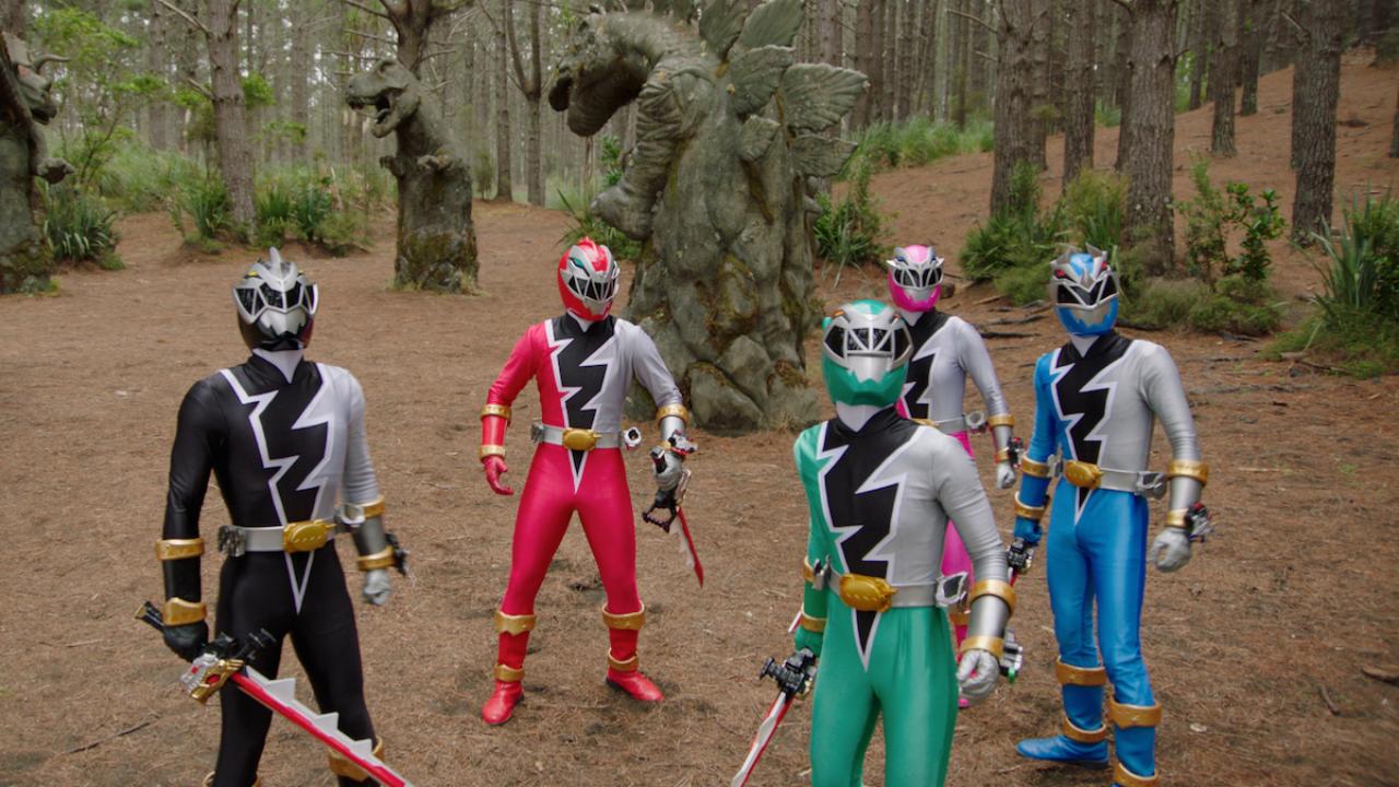Netflix Power Rangers Dino Fury