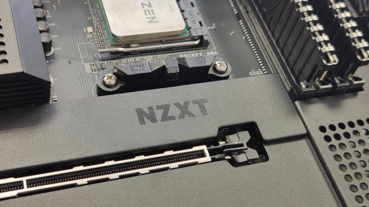 NZXT N7 B550 Motherboard Review 1