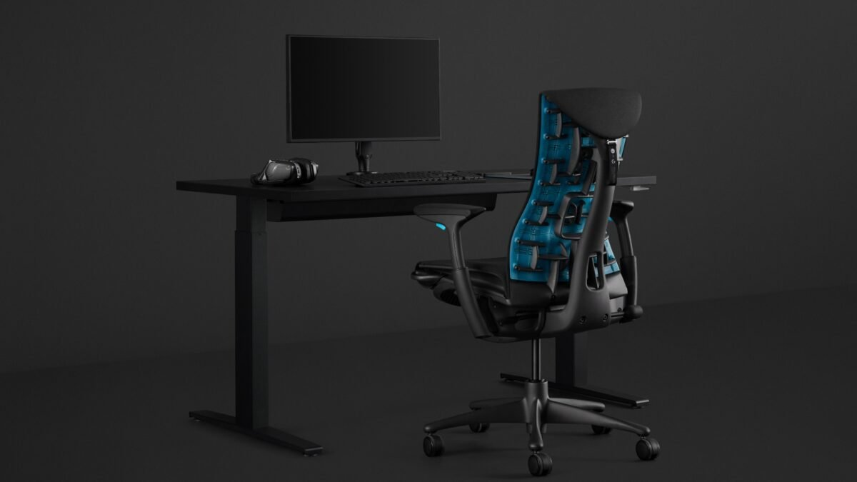 Series: The Best Gaming and Office Chairs for Women- Herman Miller X Logitech G Embody 9