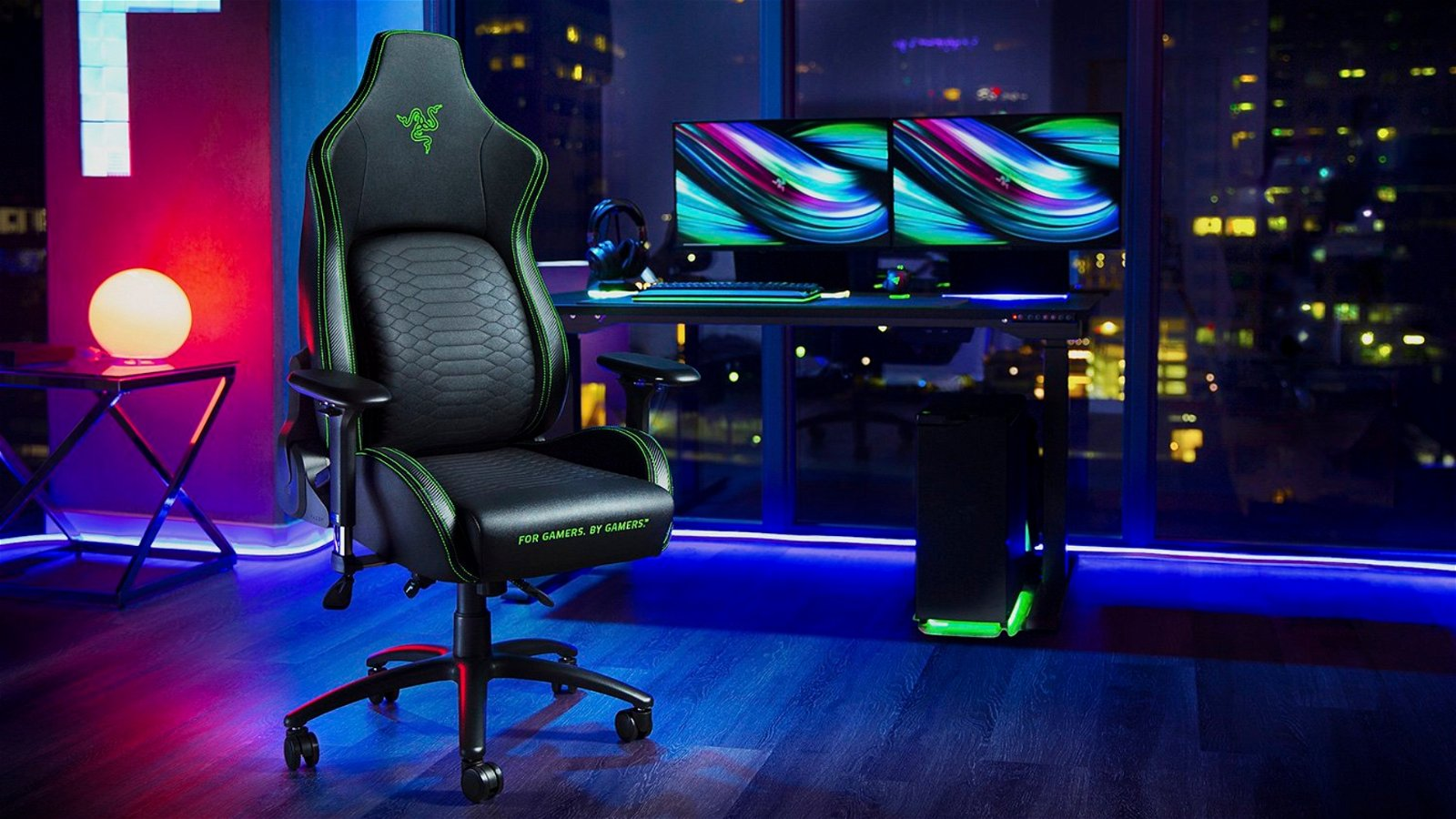 Series: The Best Gaming and Office Chairs for Women- The Razer Iskur 1
