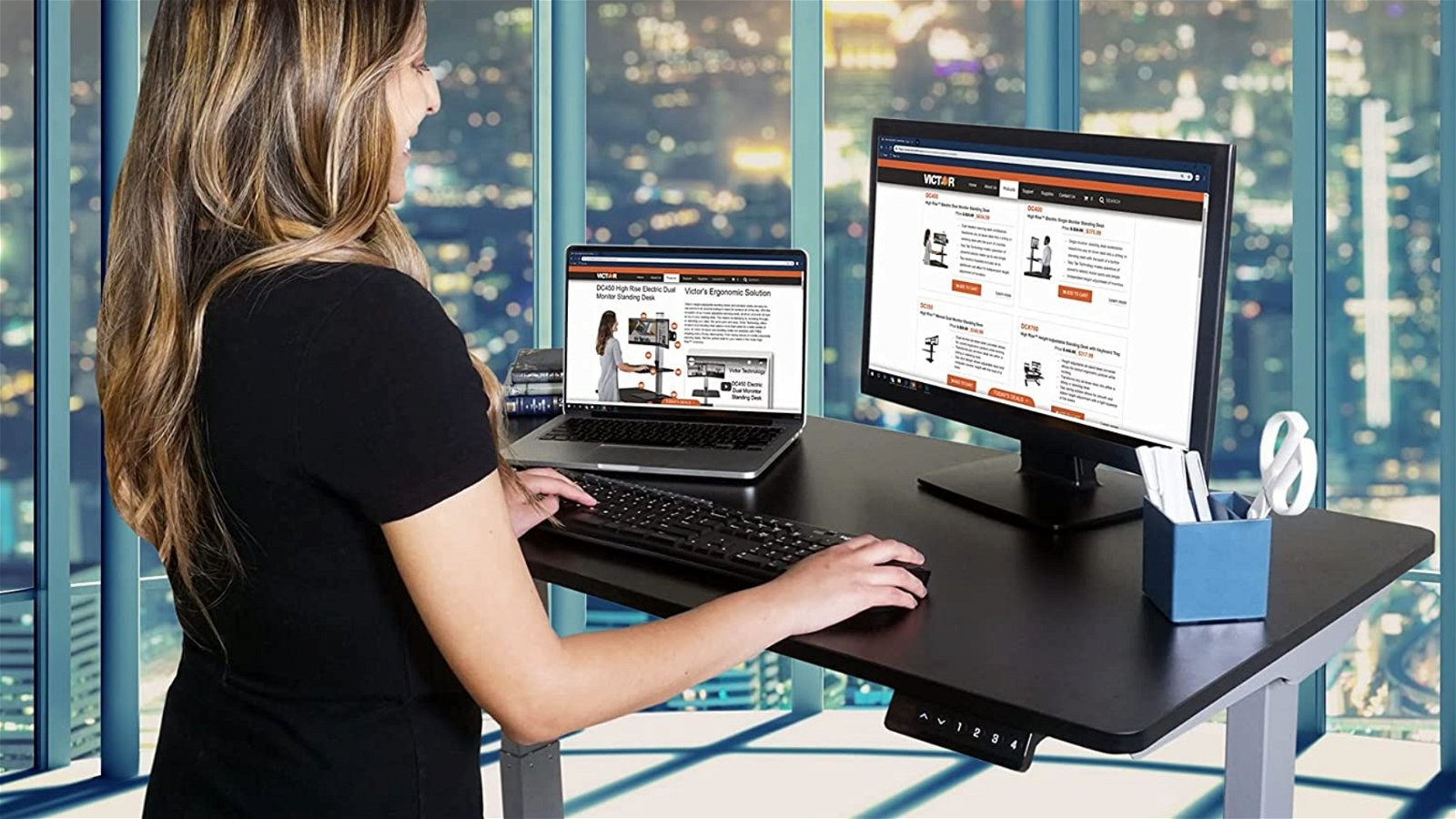 Victor DC840B Desk Review 1