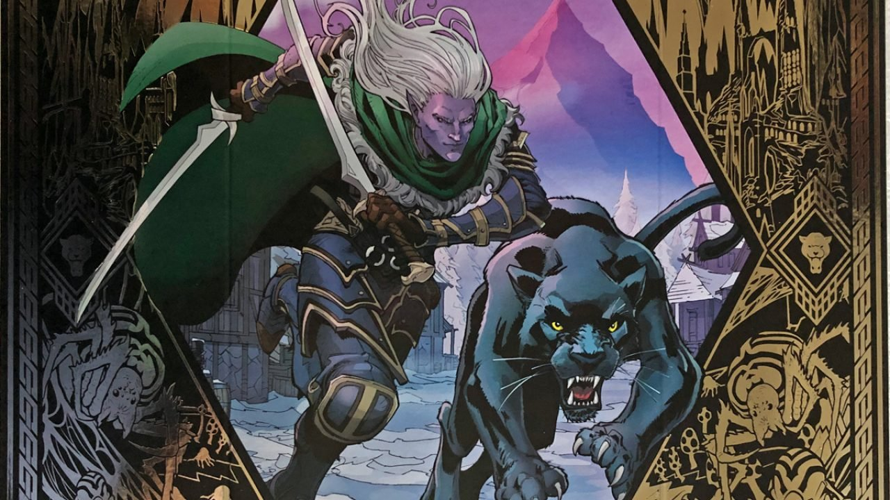 Drizzt Do'Urden Comes to Life in New D&D Short