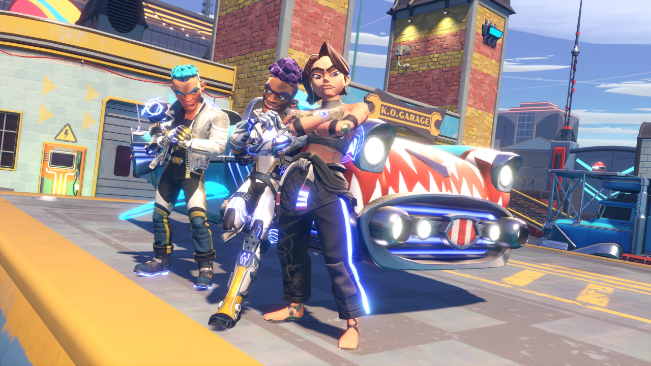 Knockout City Preview: High-Flying Dodgeball Action
