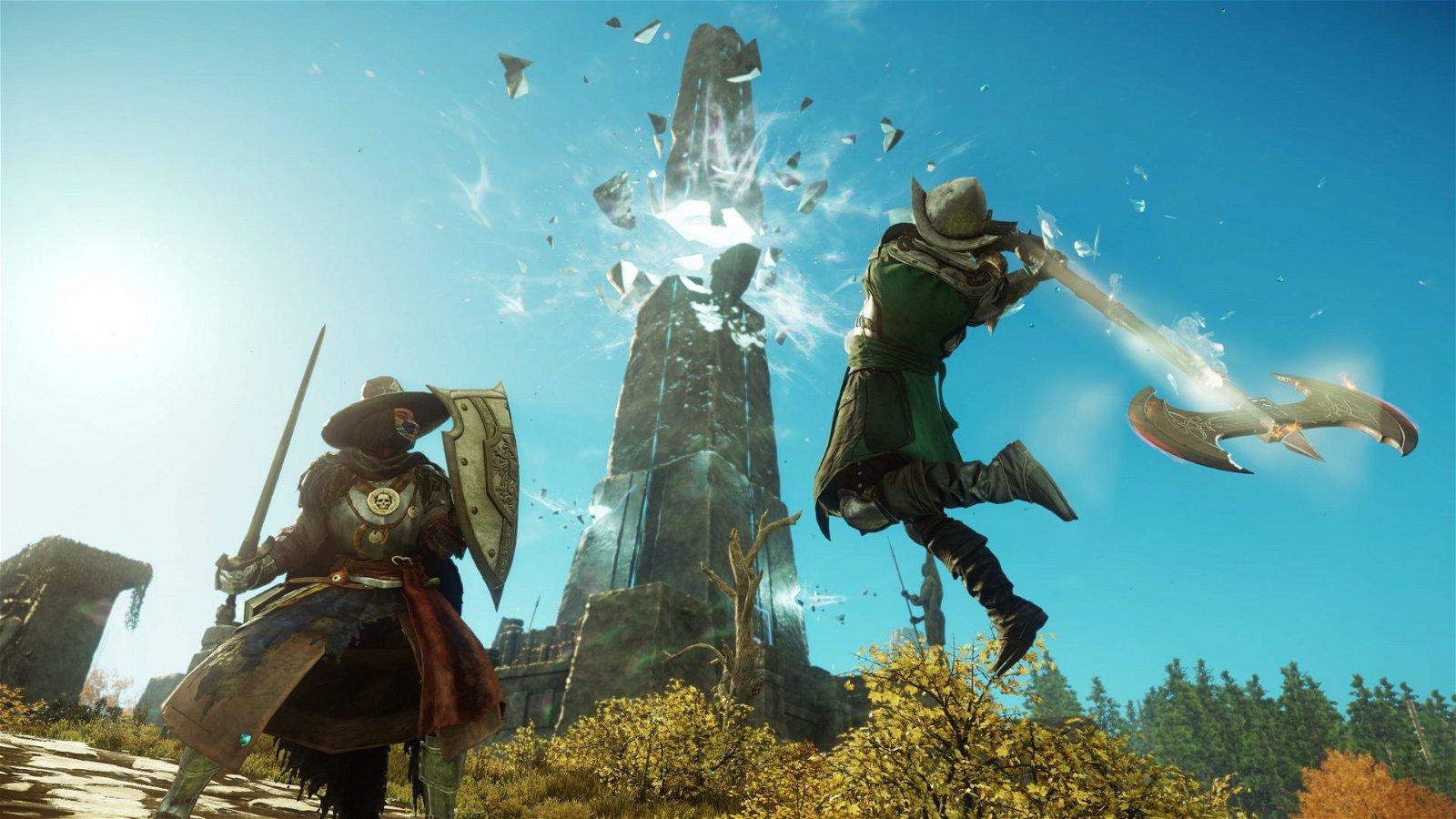 New World Preview: Amazon's Fantasy MMO 1