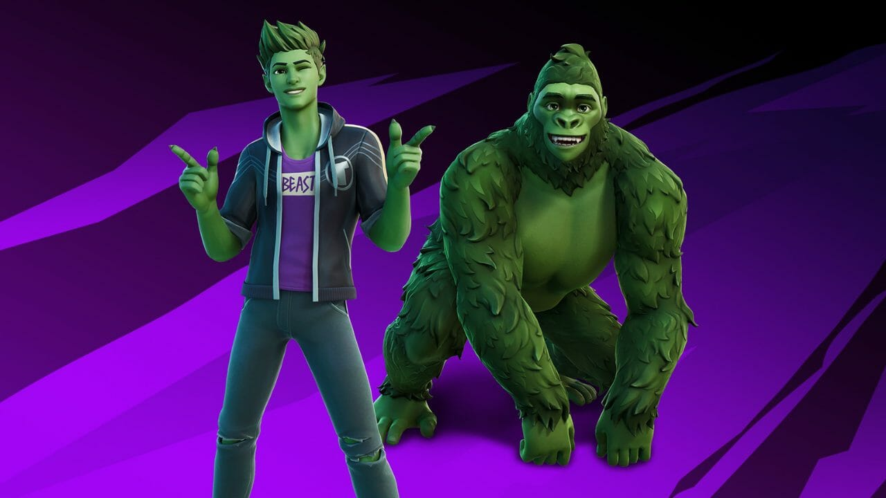 Teen Titans Characters Join Fortnite