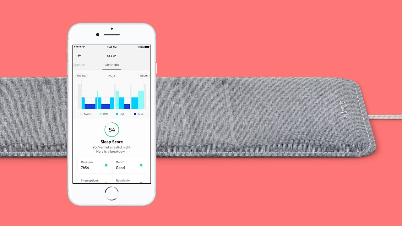 Withings' Sleep Tracking Mat Review 8