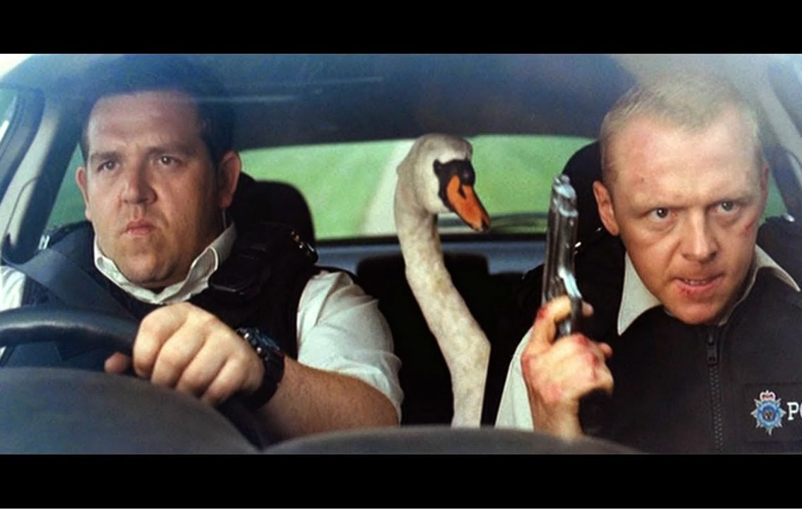 Getting Into Hot Fuzz With Simon Pegg And Nick Frost