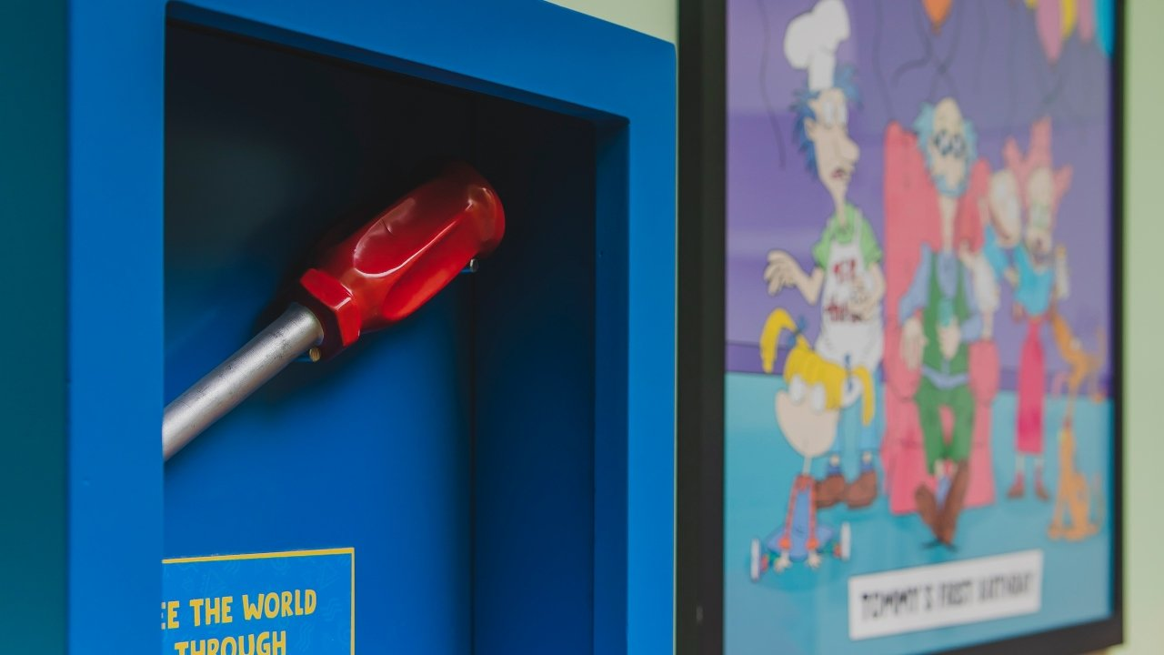 30Th Anniversary &Quot;Search For The Losted Toys&Quot; Rugrats Escape Room