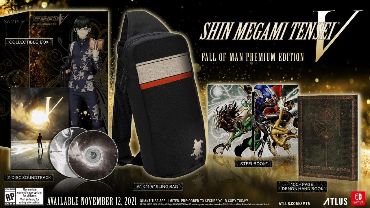 Shin Megami Tensei V Premium Edition Pre-Orders Available Now