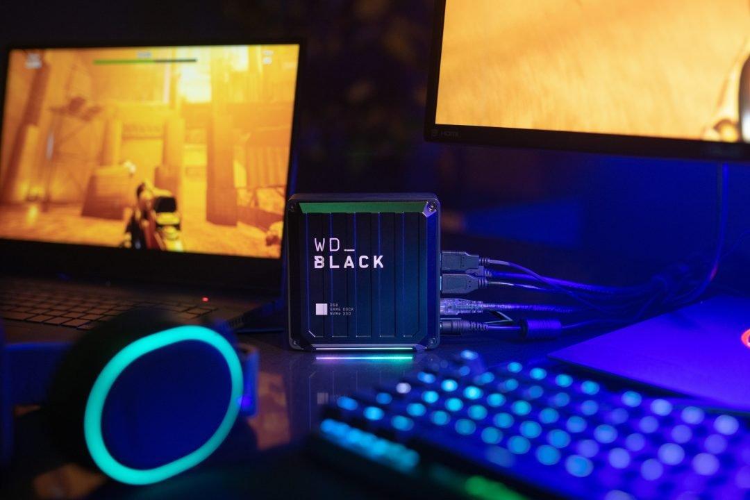 Wd_Black D50 Game Dock