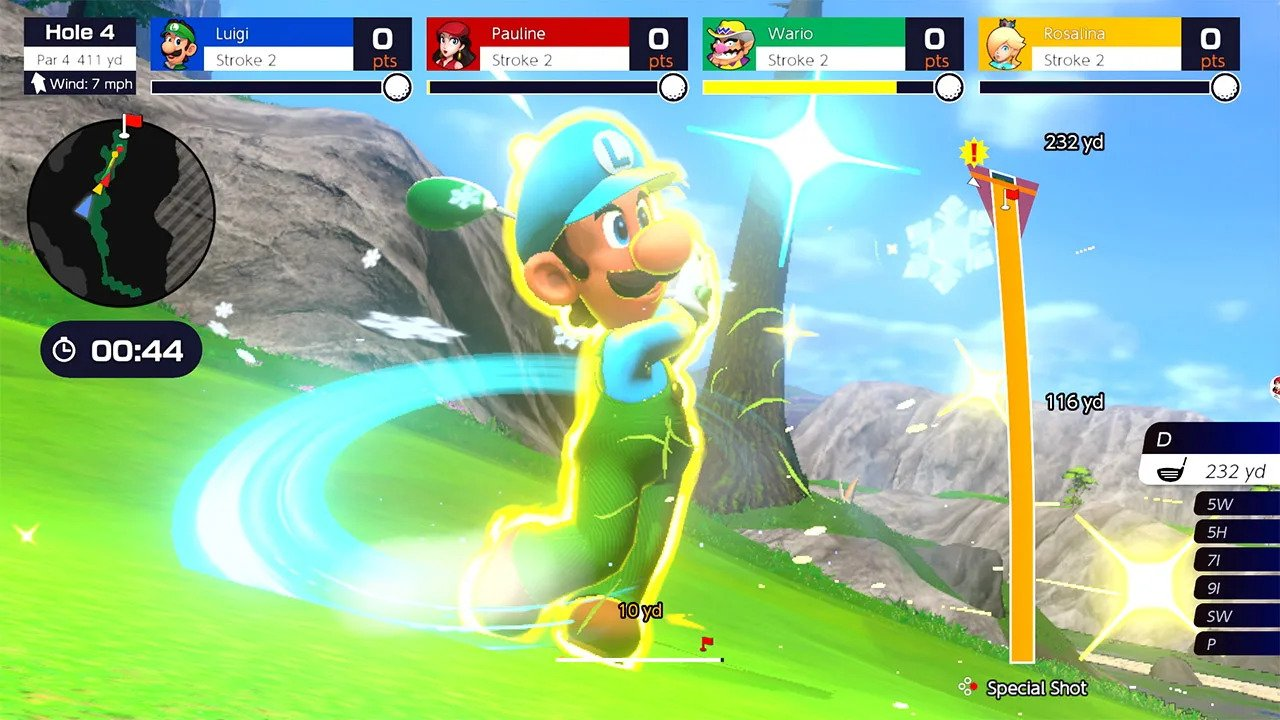 Mario Golf: Super Rush (Switch) Review 2