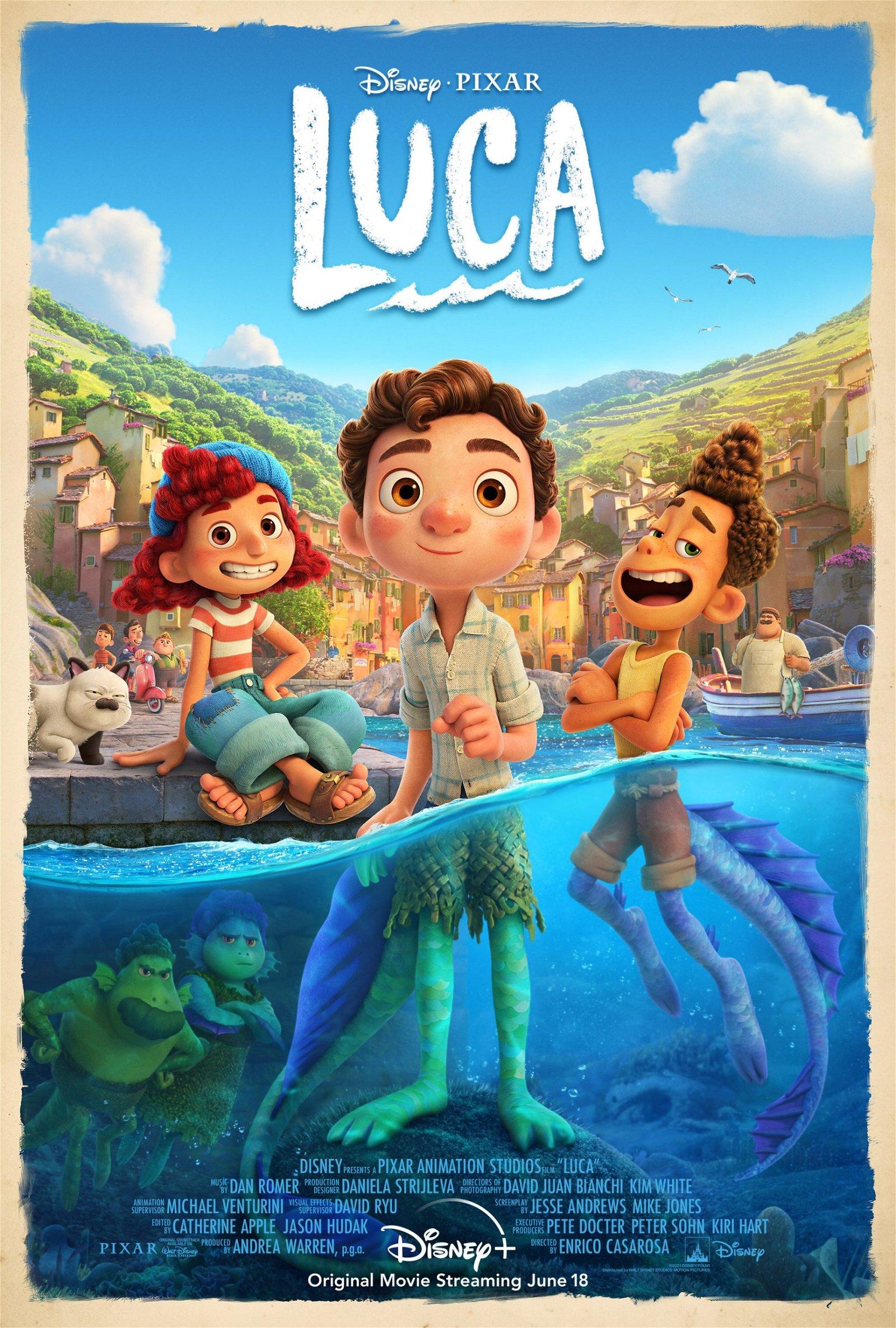 Luca (2021) Review