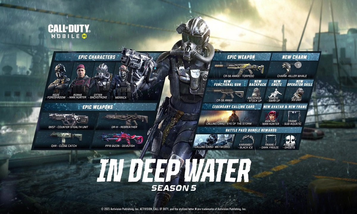 Call Of Duty: Mobile Season 5 Includes New Weapons, Modes, And Maps 1