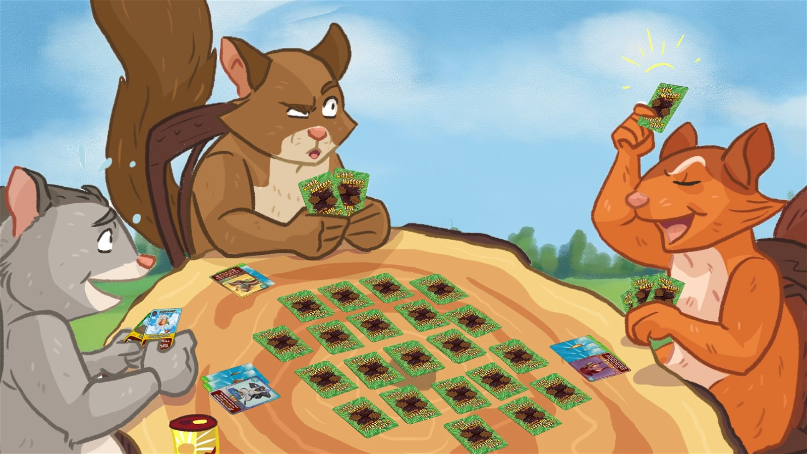 Go Nuts With the Little Nutters Kickstarter June 30 1