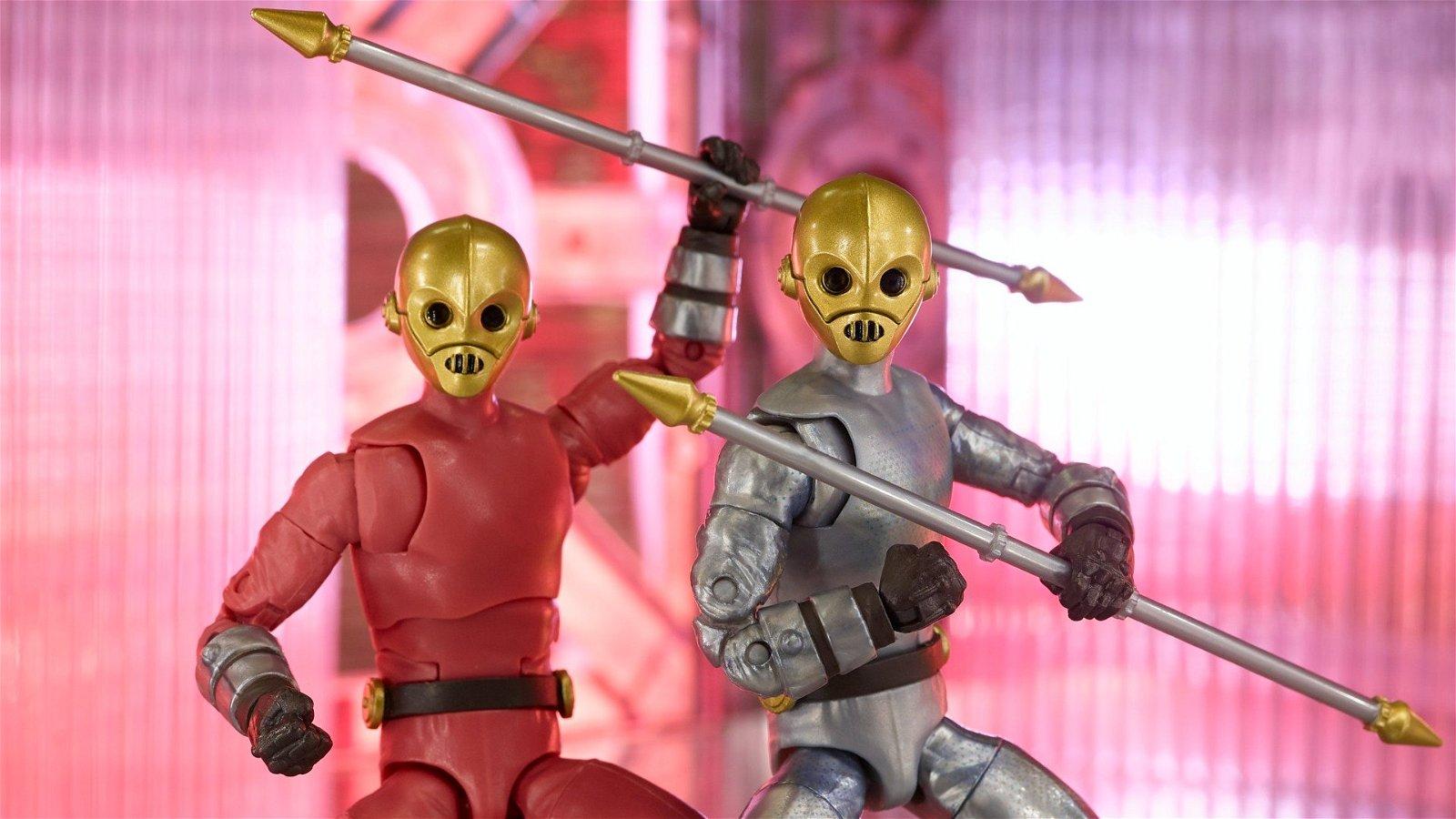 Hasbro Announces Classic Power Rangers Zeo Cog Figures