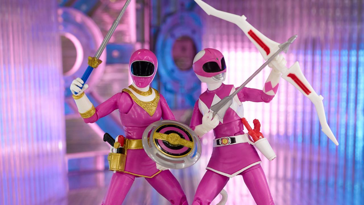 Hasbro Reveals New Lineup of Power Rangers Toys