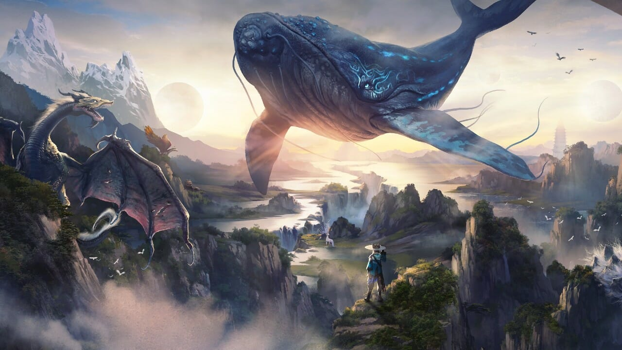Tencent Reveals Chimeraland, an MMO Inspired by Chinese Mythology