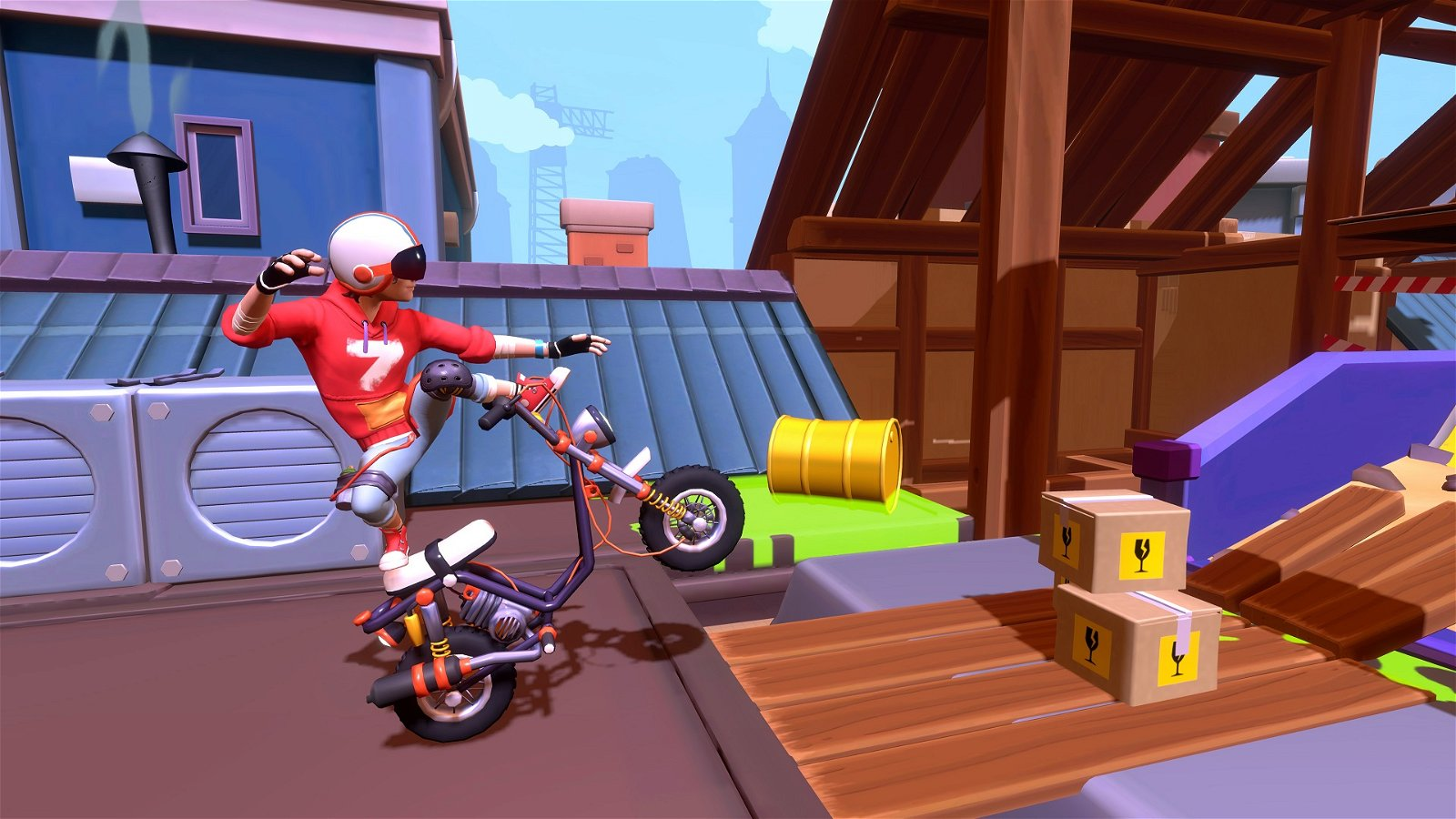 Urban Trial Tricky Comes To More Console Platforms And PC This July