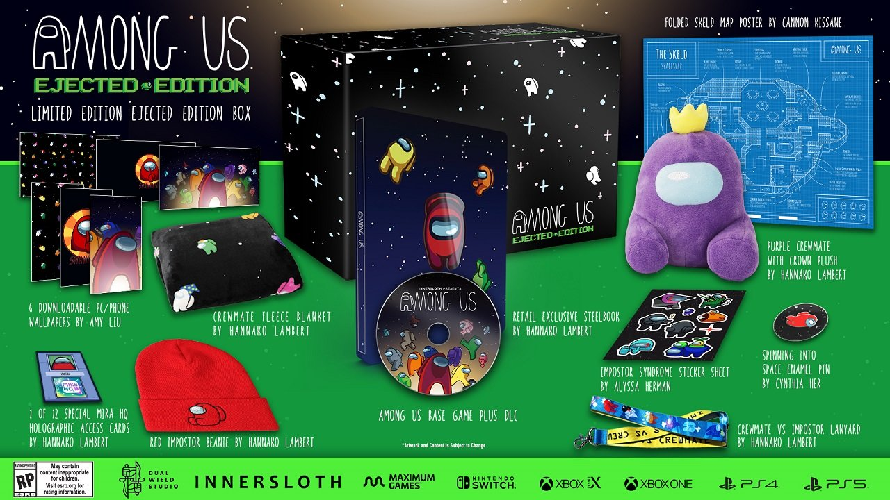 Among Us Collector'S Editions Available For Pre-Order Now