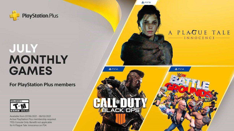 I giochi PlayStation Plus di luglio includono Call Of Duty: Black Ops 4 e altri
