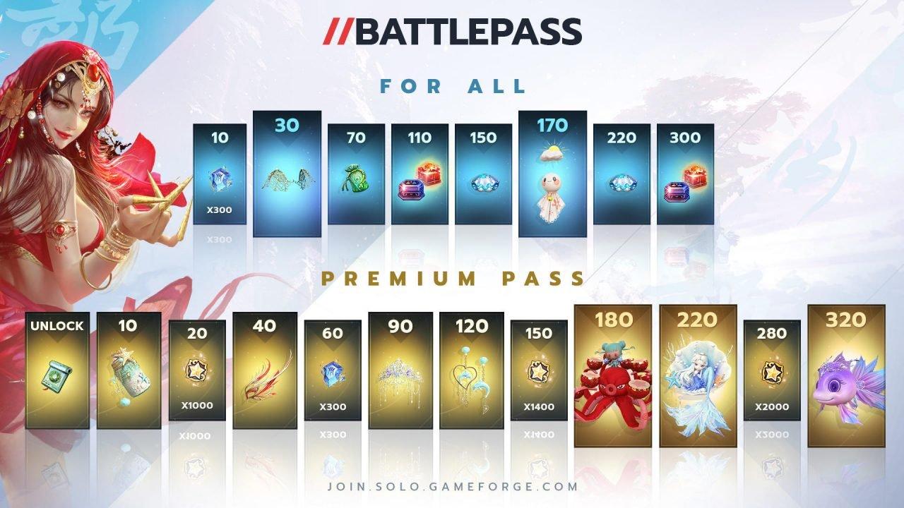 Swords Of Legends Online anuncia el primer pase de batalla y los eventos de verano 1