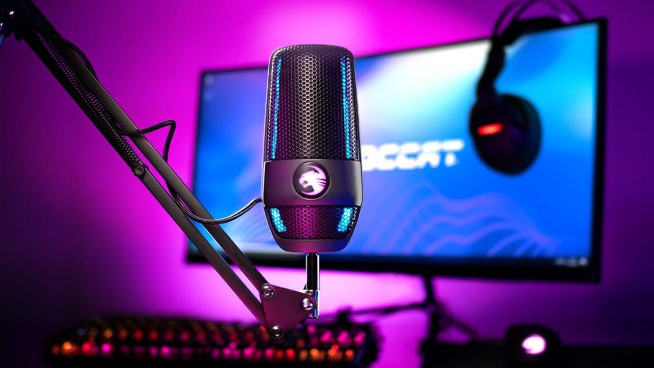 Roccat Reveals New Studio-Quality Torch Microphone