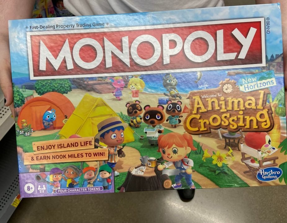 Animal Crossing New Horizons Monopoly Board Photos Released