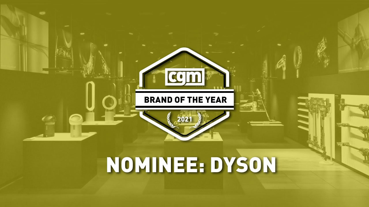 CGM Brand of the Year 2021 Nominee: Dyson 1
