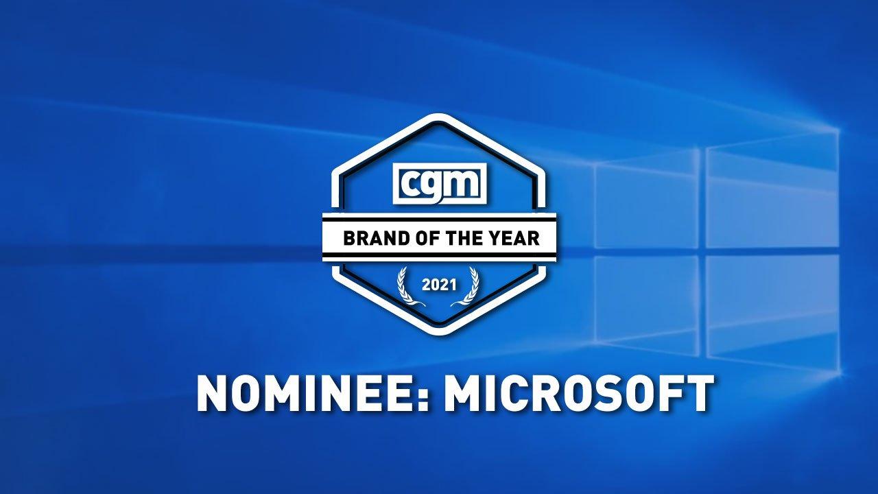 CGM Brand of the Year 2021 Nominee: Microsoft