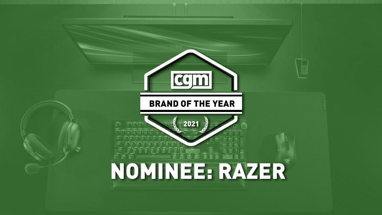 CGM Brand of the Year 2021 Nominee: Razer 2