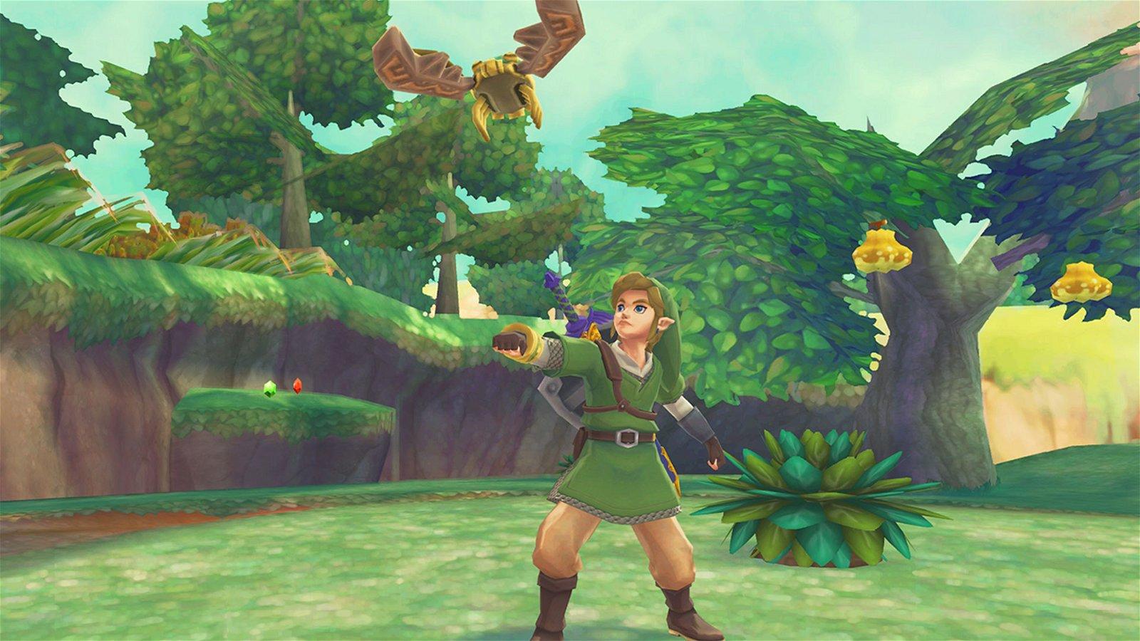 A Hero Rises in the new Legend of Zelda: Skyward Sword HD Trailer 1