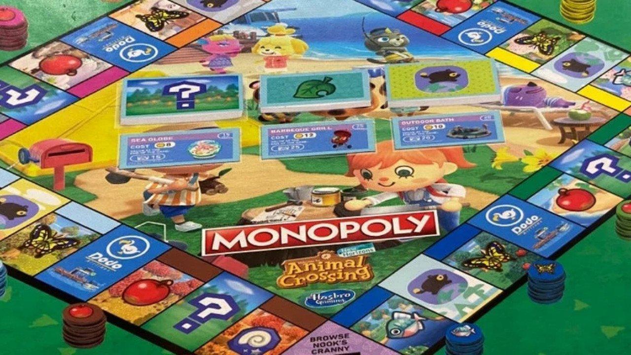 Animal Crossing New Horizons Monopoly Shadowdropped