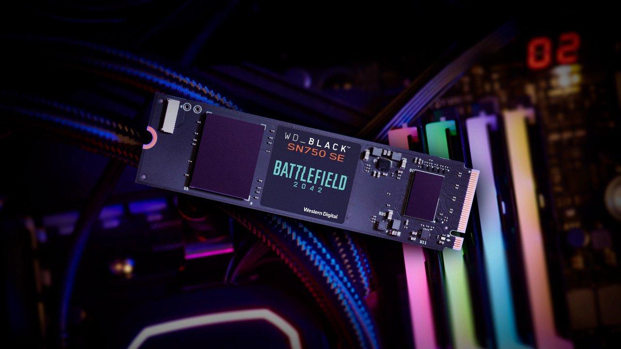 Battlefield 2042 x WD_BLACK SSD PC Game Code Bundle details