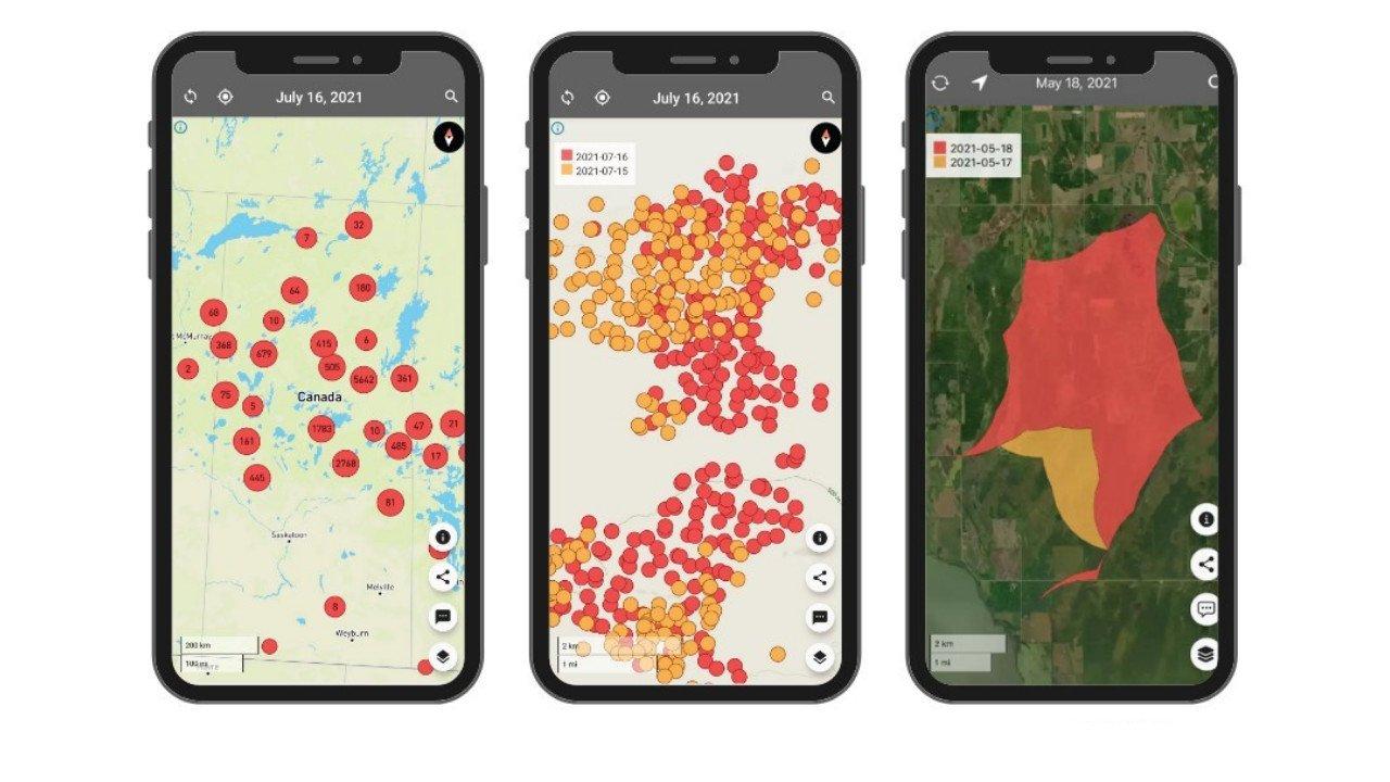 Canadian Developed App FireFringe can Detect Forest Fires