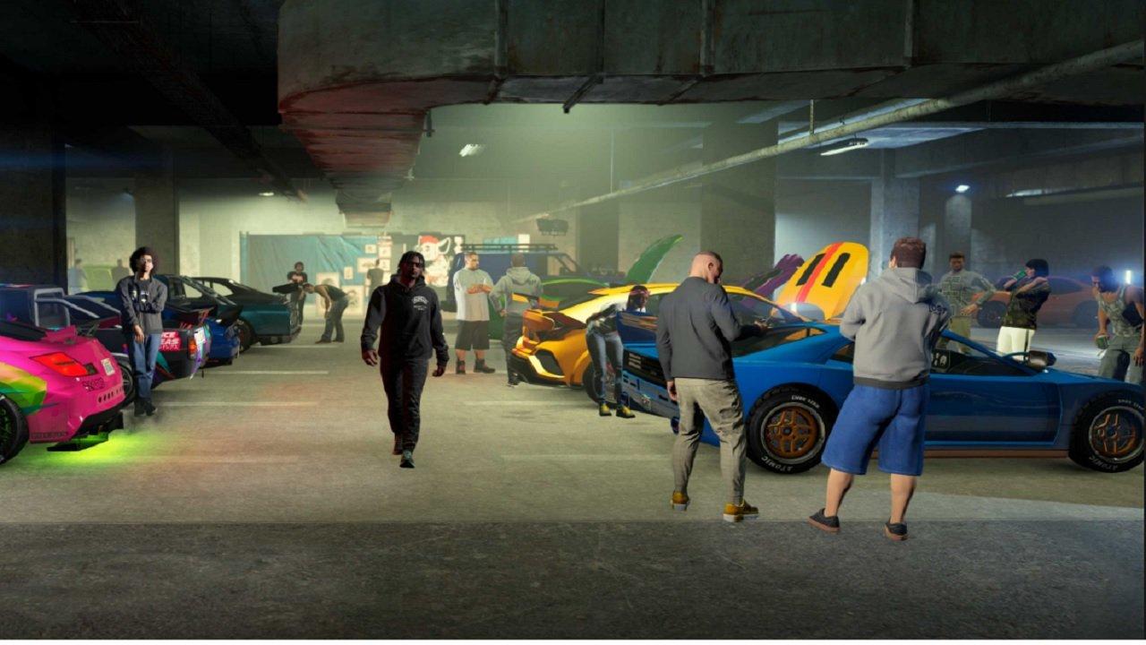 GTA 5 Online is Finally Doing Auto Stuff Again