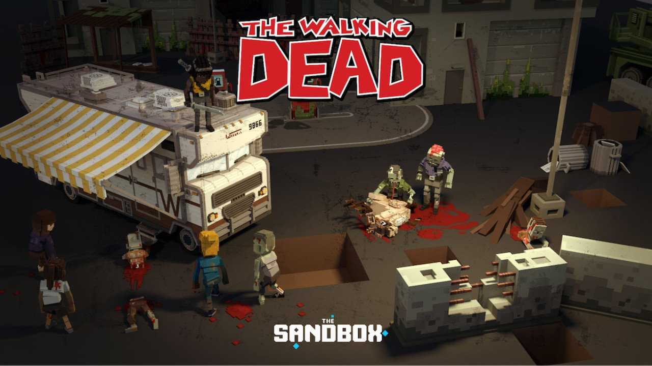 The Walking Dead is coming to The Sandbox Gaming Metaverse