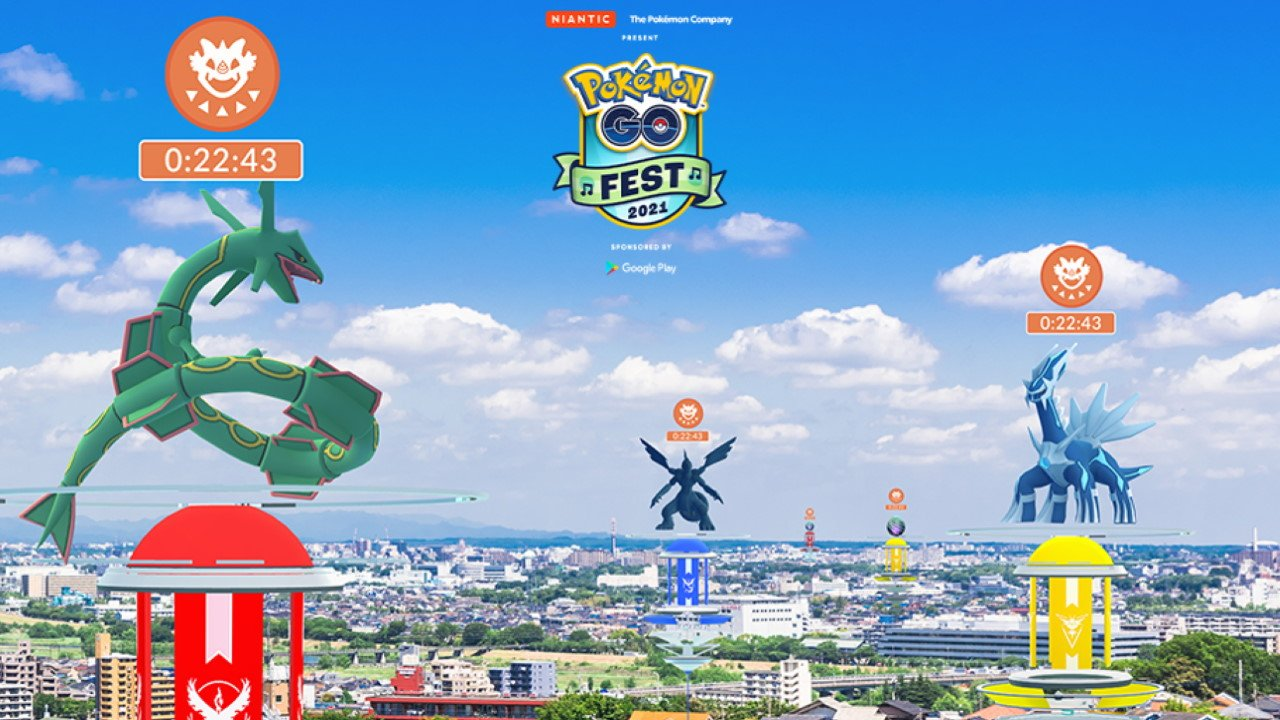 Day 2 Of Pokémon Go Fest 2021 Will Feature Raids With Every Legendary In The Game Thus Far.