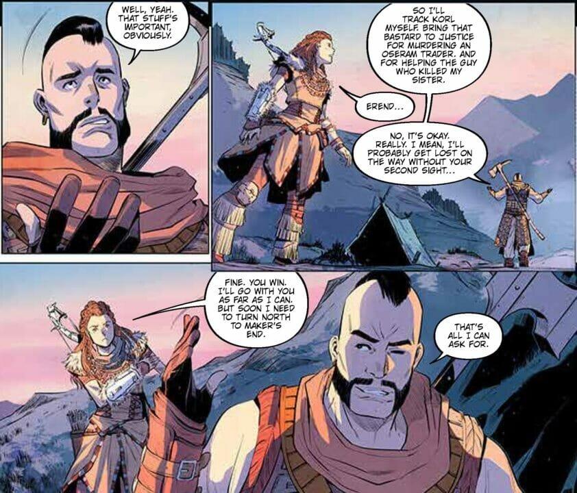 Horizon Zero Dawn: Liberation #1 Comic Review
