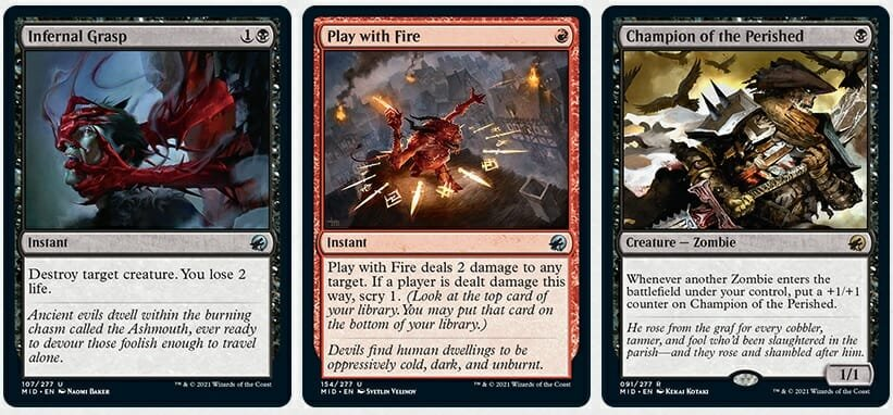 The Latest From Magic The Gathering — Innistrad: Midnight Hunt And Crimson Vow Sets