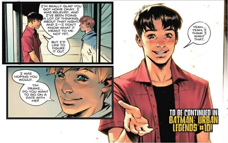 Dc's Robin Joins The Lgbtq+ Community In Latest Dc Comic