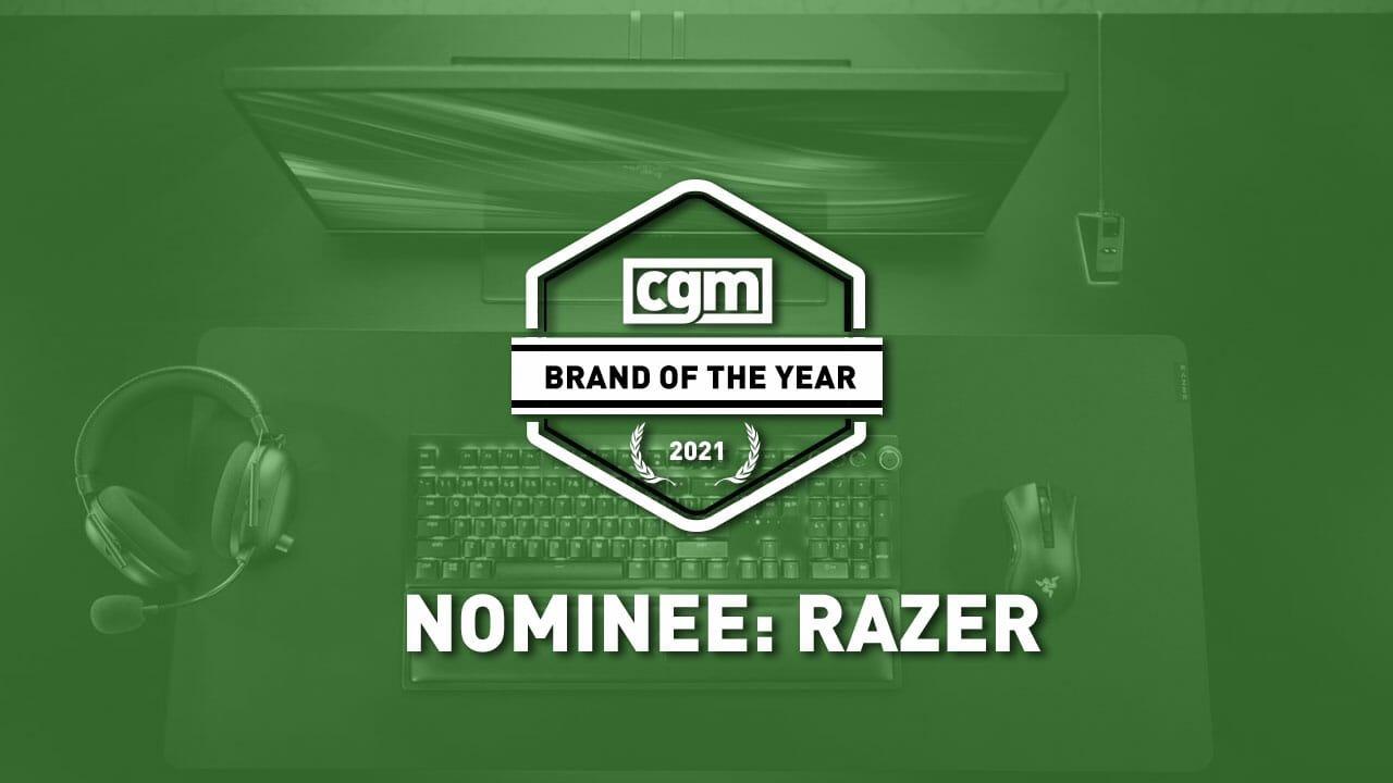 Cgm Brand Of The Year 2021 Nominee: Razer 3