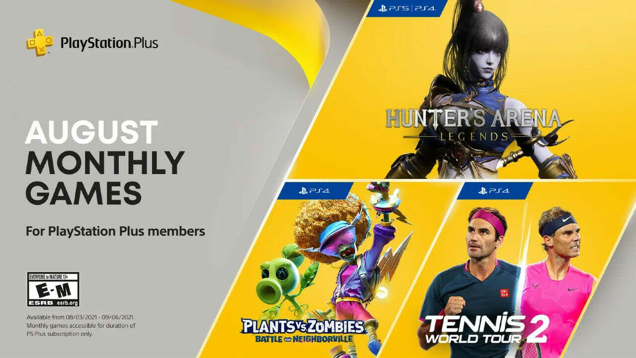 August Playstation Plus Lineup  Announced