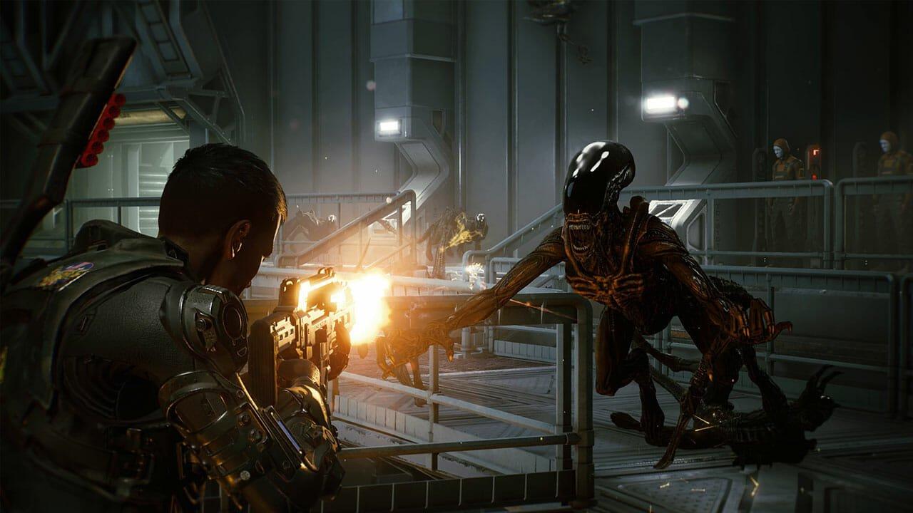 Exterminating Parasites in Space With Aliens: Fireteam Elite
