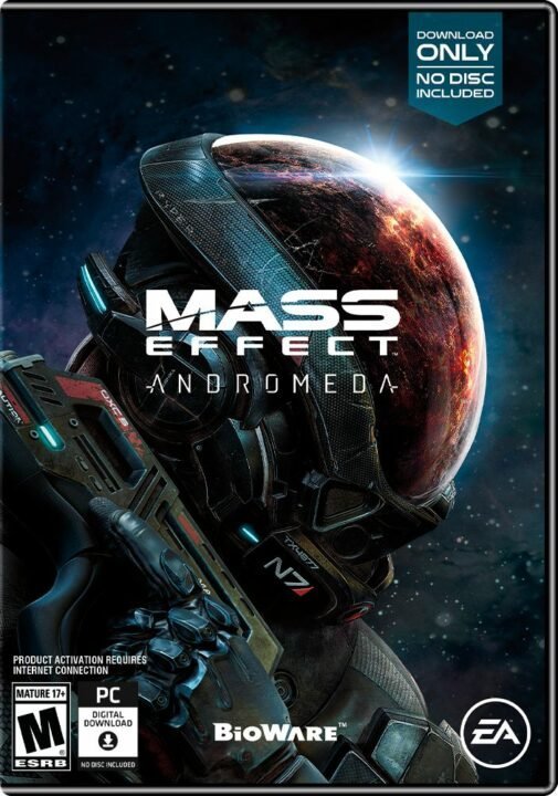 Mass Effect: Andromeda Deluxe Edition And Boxart Leaked Ahead Of Schedule