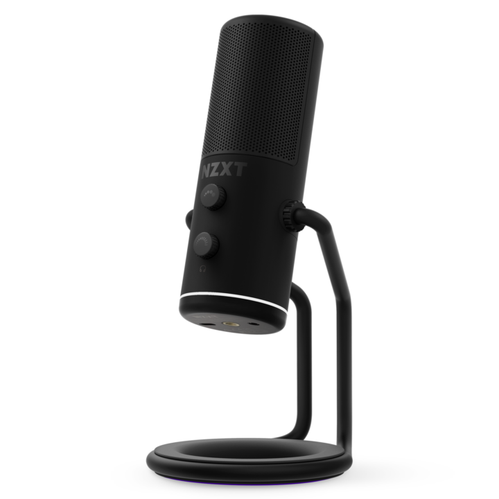 Nzxt Introduces The Capsule Usb Microphone And Boom Arm To Ensure Pc Streaming Quality