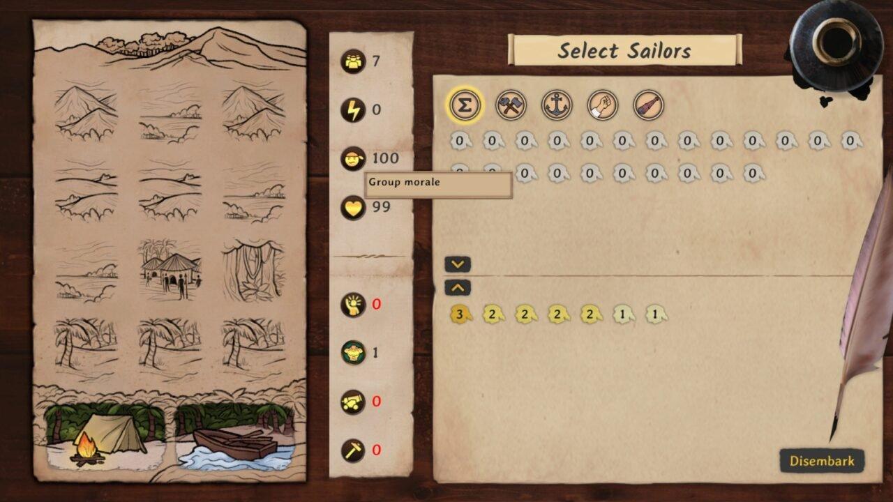 Maritime Calling Preview: High Seas Roguelike