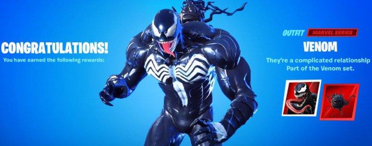 Fortnite Unleashes Venom Before October 1St Film Release