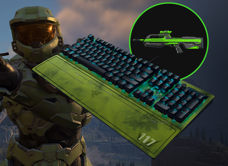 Razer Cuts Into Halo Infinite With New Spartan 117 Inspired Gear 2